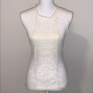 NWT Express lace sleeveless top